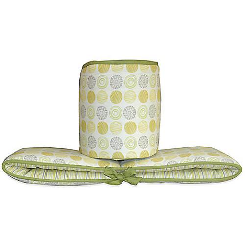 Country Home Laugh, Giggle & Smile Zen Garden 4-Piece Crib Bumper
