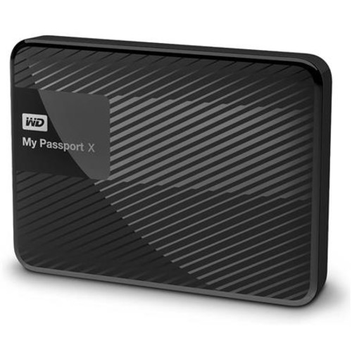WD My Passport X 3TB USB 3.0 Hard Drive, Xbox and PC Gaming, Black WDBCRM0030BBK-NESN