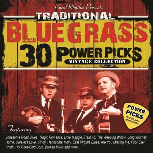 30 Traditional Bluegrass Power Picks: Vintage Collection [CD]