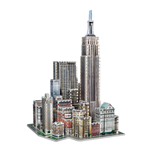 Wrebbit Puzzles 2011 Midtown West New York 3D Puzzle