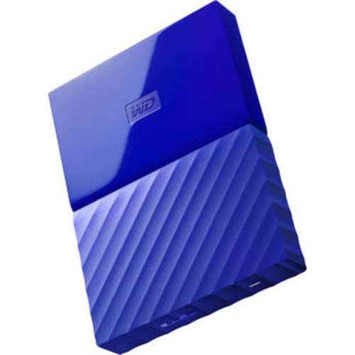 1TB My Passport USB 3.0 Secure Portable Hard Drive (Blue)
