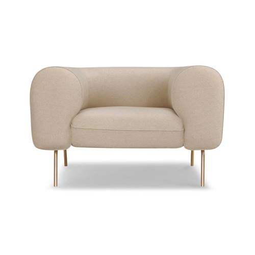 Big Arm Chair [Fabric color : Cream Felt]
