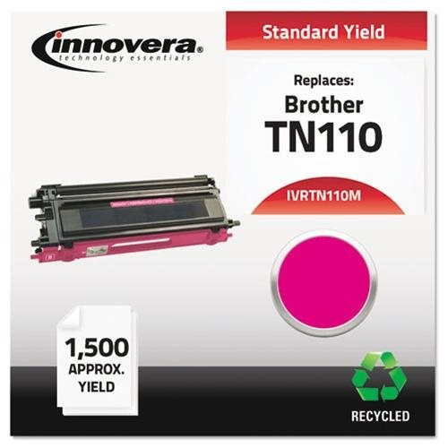 Innovera Remanufactured Toner Cartridge - Alternative for Brother (TN110M) - Magenta - Laser - Standard Yield - 1500 Page - 1 Each
