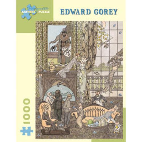 Pomegranate Communications, Inc. Edward Gorey Frawgge Manufacturing Co Puzzle: 1000 Pcs
