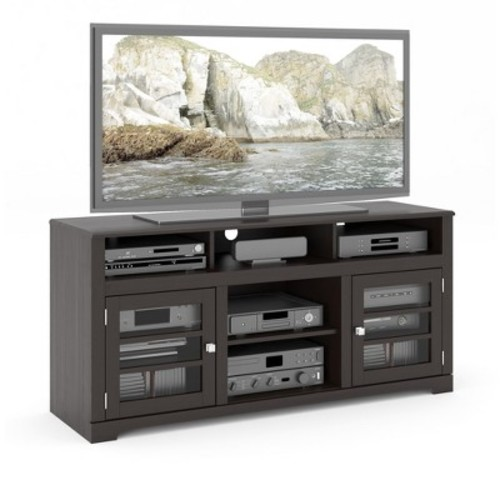 West Lake Television Bench Mocha Black 60