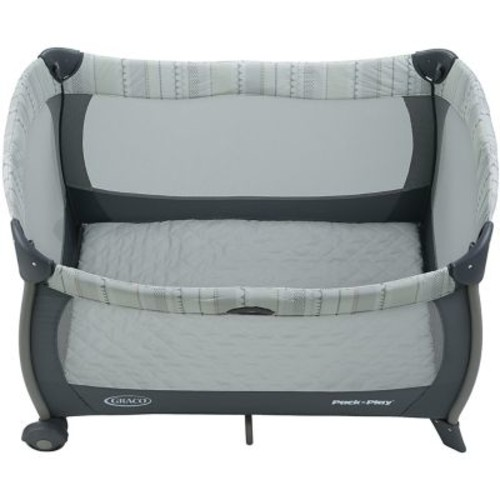 Graco Pack 'n Play Playard with Twins Bassinet, Mason