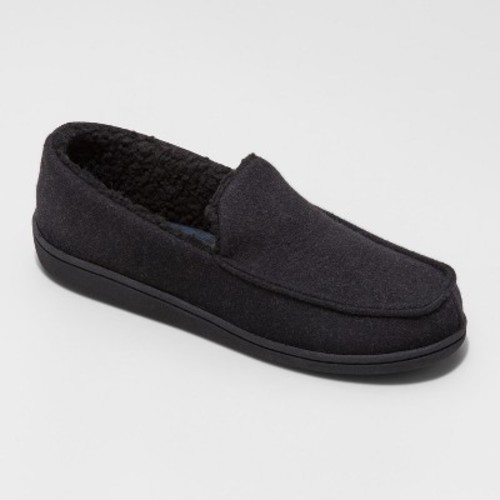 Men's Micro Moccasin Slipper - Goodfellow & Co Black