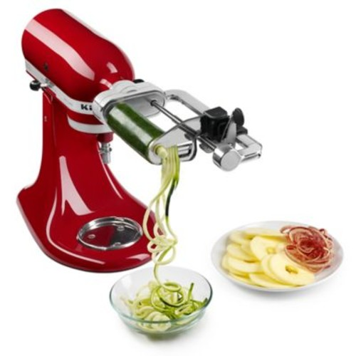 KitchenAid 5-Blade Spiralizer with Peel, Core, and Slice Stand Mixer Attachment