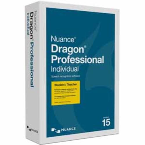 Nuance Dragon Professional Individual 15.0 - Student/Teacher Edition