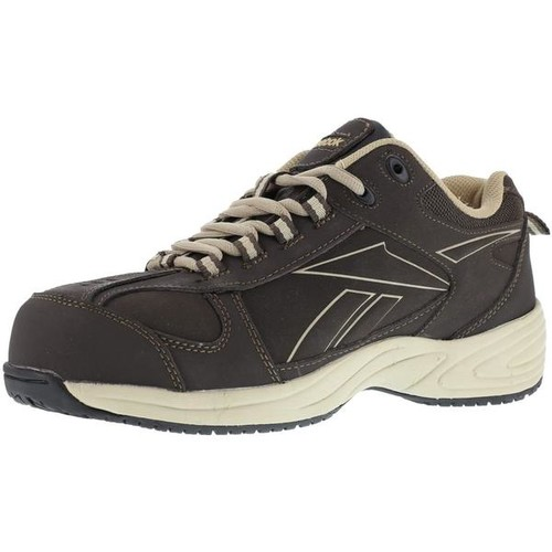 Reebok Women's Street Sport Jogger Oxford - Brown and Taupe [width : Medium]