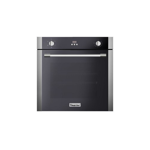 Magic Chef 24 in. 2.2 cu. ft. Single Electric Wall Oven with Convection in Stainless Steel