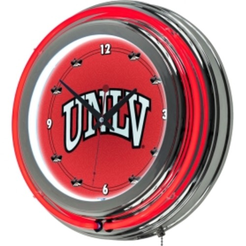Trademark Games UNLV Rebels 14'' Neon Clock