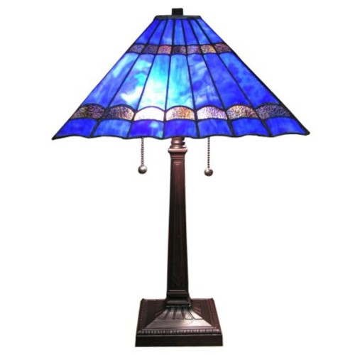 Warehouse of Tiffany Tiffany-style Gothique Table Lamp