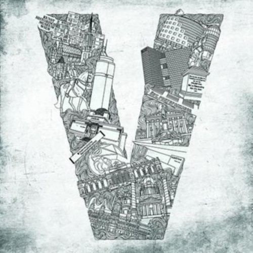 East Urban Home 'Alphabet Vienna' Graphic Art on Canvas; 37'' H x 37'' W x 0.75'' D