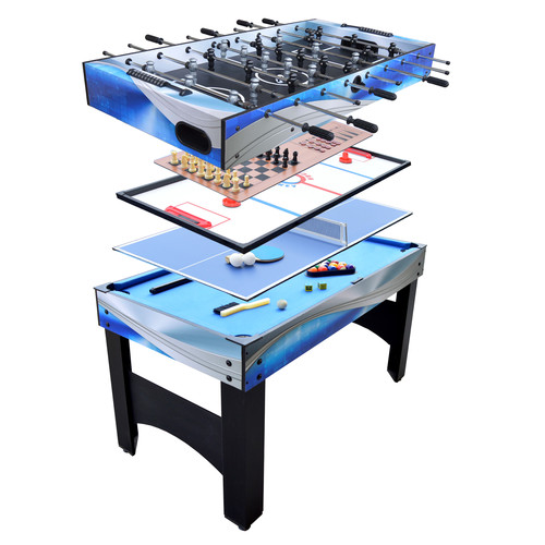 Hathaway Matrix 54-in 7-in-1 Multi-Game Table