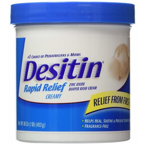 Desitin Rapid Relief Creamy 16 oz. Diaper Rash Cream