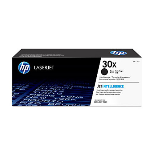 HP High-Yield Black Toner Cartridge, HP 30X / CF230X
