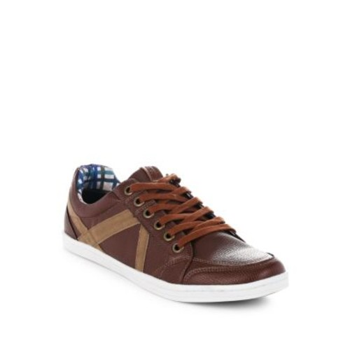 Ben Sherman - Paneled Leather Shoes