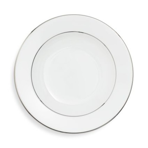 Fortessa Taura Platinum Bone China Soup Plate