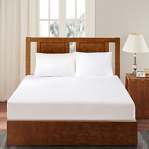 Bed Guardian by Sleep Philosophy 3M Scotchgard Twin Mattress Protector