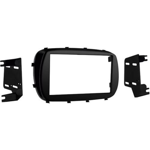 Metra - Dash Kit for Select 2016 Fiat 500X Vehicles - Matte black
