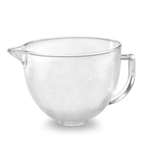 KitchenAid Hammered Glass Bowl, 5 qt.