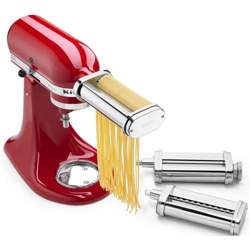KitchenAid 3-Piece Pasta Roller \u0026 Cutter Set Attachment