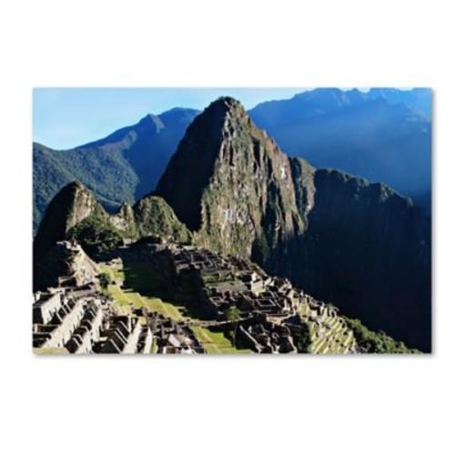 Trademark Fine Art Ariane Moshayedi 'Machu Picchu II' 12 x 19 (AM0169-C1219GG)