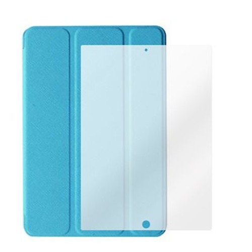 Mgear Tri-Fold Folio Cases with Screen Protector for iPad 3, 4