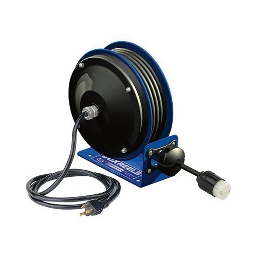 Coxreels PC10-3012-X Compact efficient heavy duty power cord reel with no accessory [12 AWG, Without Receptacle]