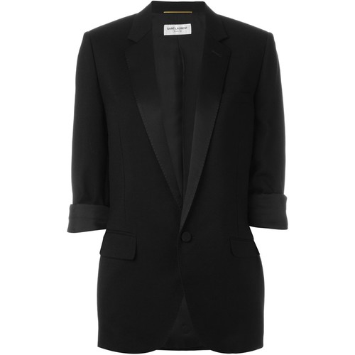 SAINT LAURENT One Button Blazer