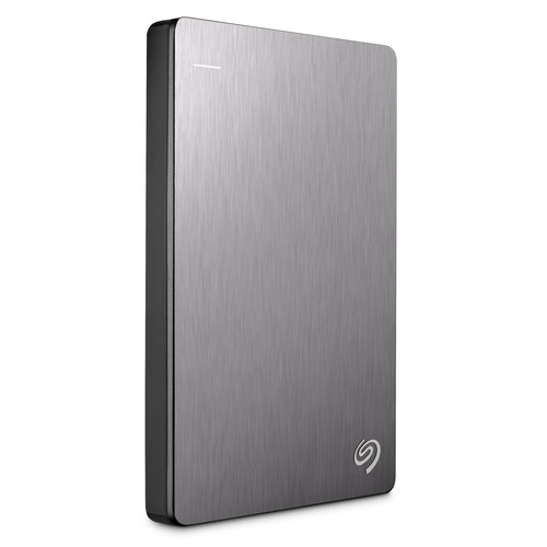 Seagate Backup Plus Slim 2TB USB 3.0 Portable External Hard Drive Silver