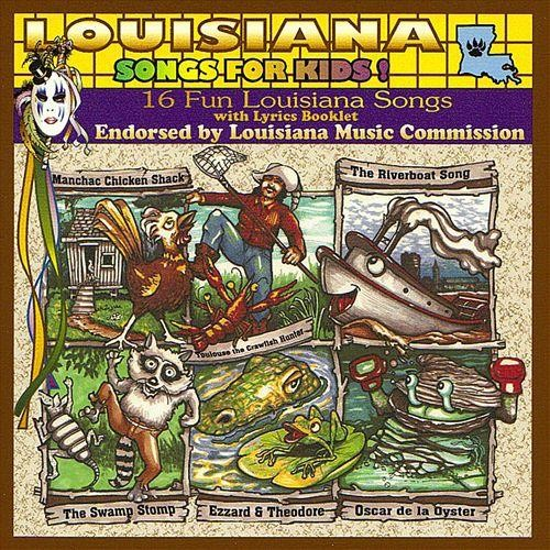 Louisiana Songs for Kids! [CD]
