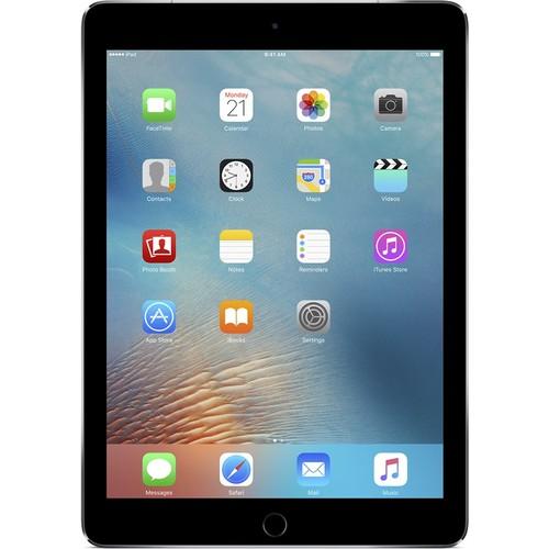 Apple - 9.7-Inch iPad Pro with Wi-Fi + Cellular - 128GB (Verizon Wireless) - Space Gray