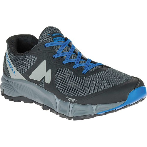 MERRELL Men's Agility Charge Flex Trail Running Shoes, Black