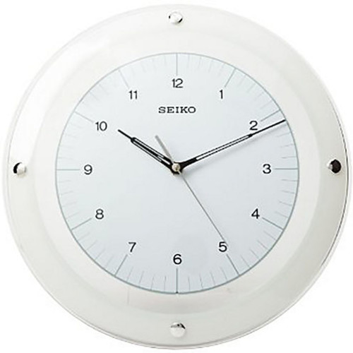Seiko White Wall Clock