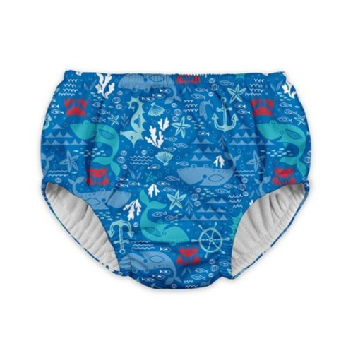 Baby Boys' Starfish Reusable Swim Diaper - Blue - i play.