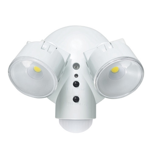Globe Electric 29W Weather Resistant Dusk to Dawn Adjustable Motion Activated Security Light