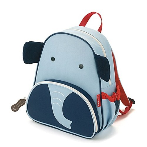 SKIP*HOP Zoo Pack Little Kid Backpack in Elephant