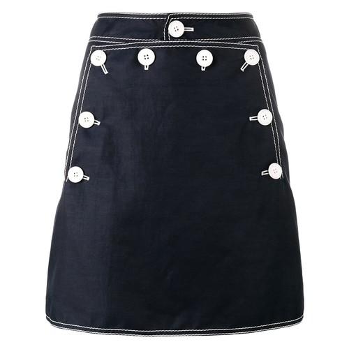 STELLA MCCARTNEY Button Mini Skirt