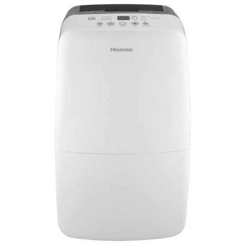 Hisense - 50-Pint Dehumidifier - White