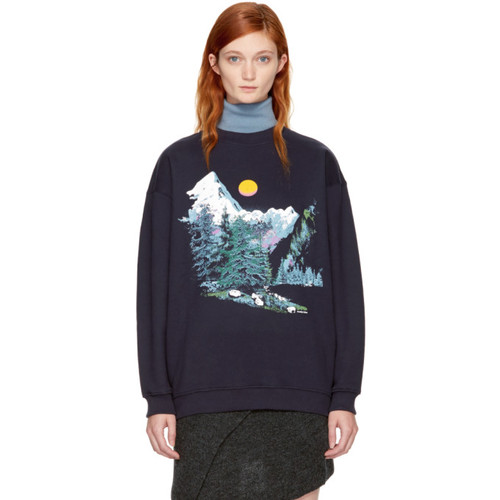 SEE BY CHLOÉ Navy Mountain Sweatshirt
