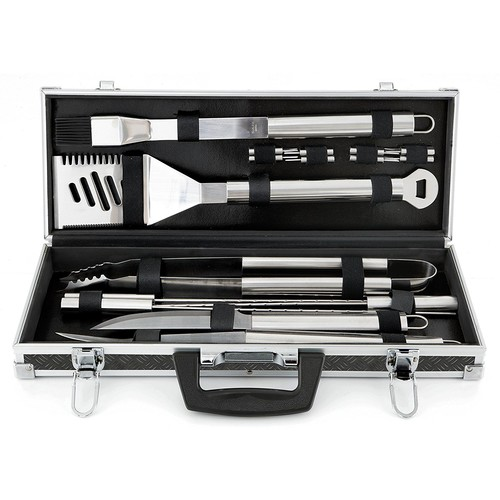 Mr. Bar-B-Q 18-Piece Tool set with Case
