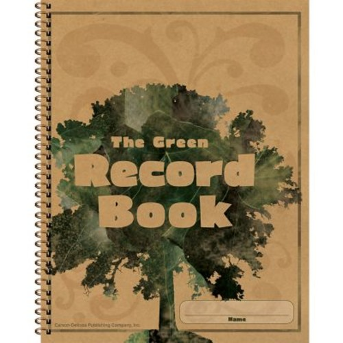 Carson Dellosa The Green Record Book, Grades PreK - 8