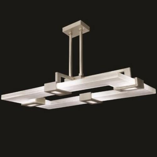 Fine Art Lamps 819240-32ST Crystal Bakehouse Four-Light Pendant in ...
