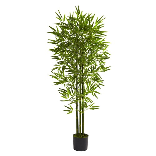 nearly natural 5-ft. Potted Bamboo Tree - Indoor & Outdoor