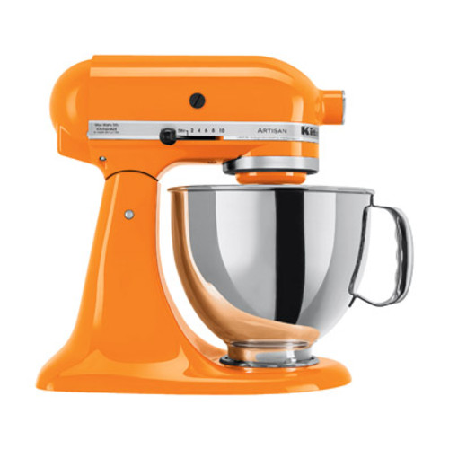 KitchenAid Artisan Series 5-Quart Tilt-Head Stand Mixer, Tangerine