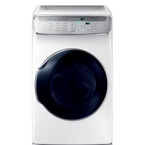 Samsung 7.5 Total cu. ft. Gas FlexDry Dryer with Steam in White