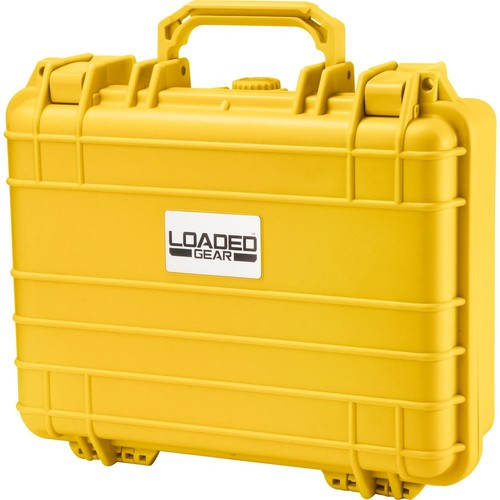 BARSKA Loaded Gear 13 in. HD-200 Hard Case in Yellow