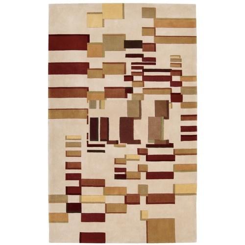 Nourison Dimensions Beige Rug (5' x 8') - 5' x 8'